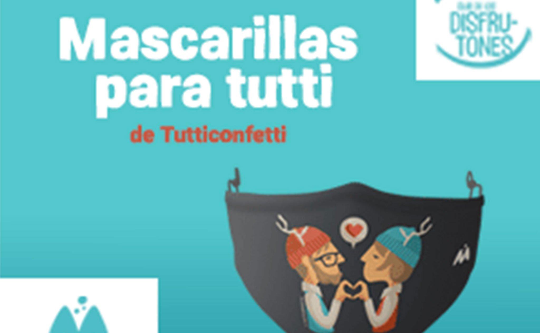 Masques conçus par l'artiste Tutticonfetti - Portal de la Marina