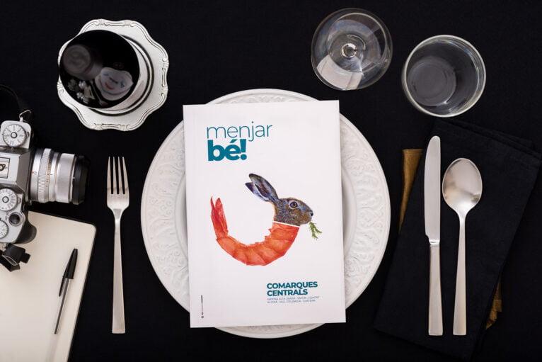 Menjar bé! Comarques Centrals, the culinary guide of Diània
