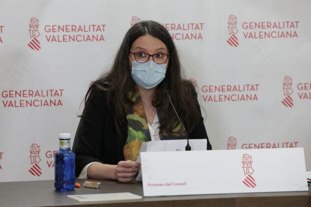 Image: Mónica Oltra, vice-présidente de la Generalitat Valenciana