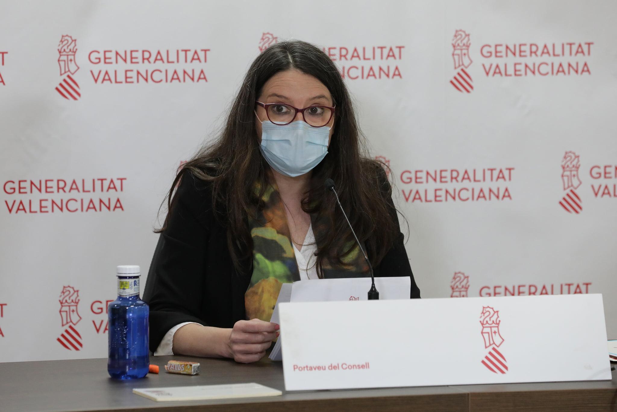 Mónica Oltra, vice-présidente de la Generalitat Valenciana