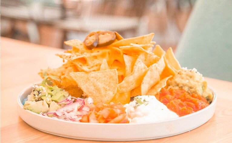 Nachos take away or with home delivery in Jávea - Ammos Restaurant