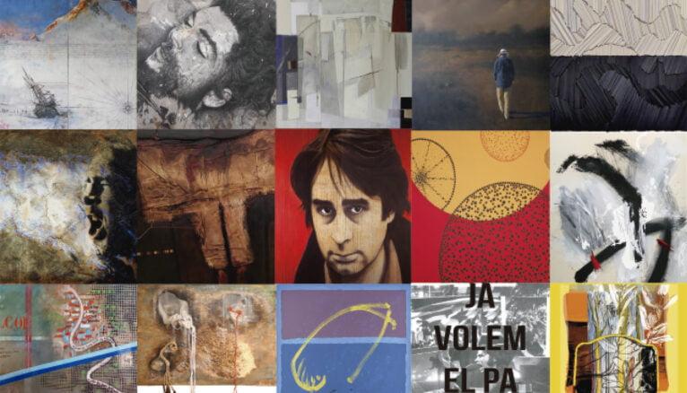 Ovidi Montllor exhibition cover