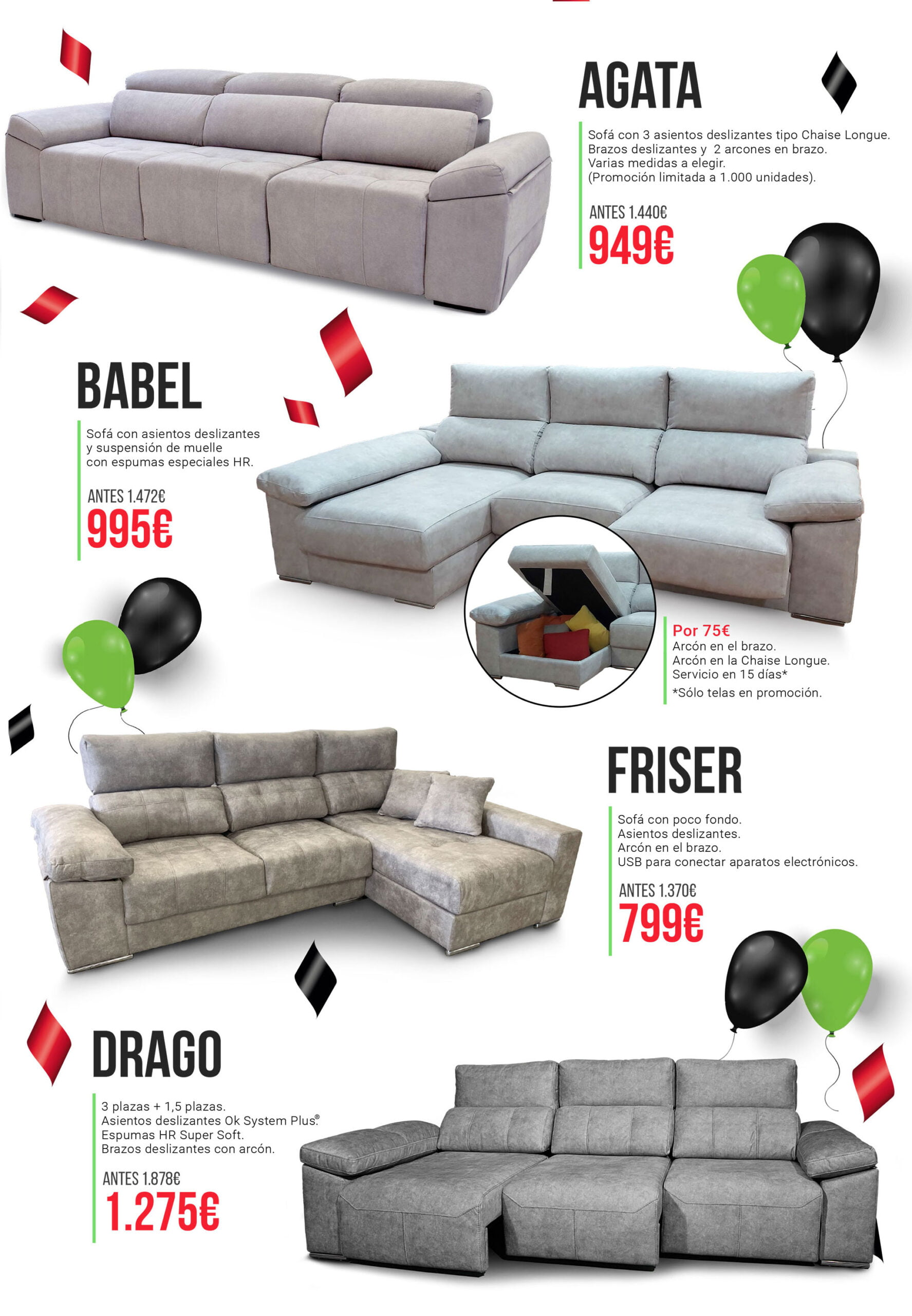 Take advantage of the OK Sofas sales