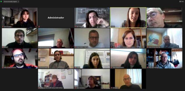 Imatge: Reunió de coordinació amb els centres educatius