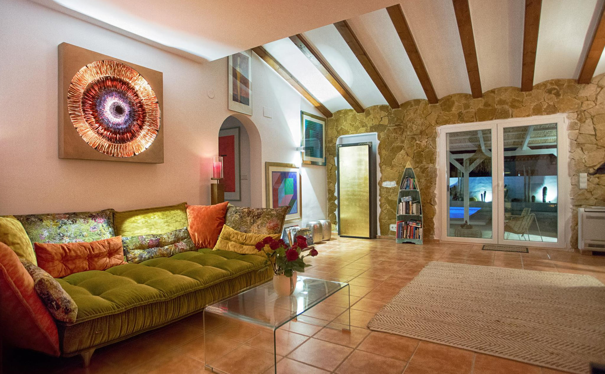 Living room in a luxury vacation home in Dénia - Quality Rent a Villa