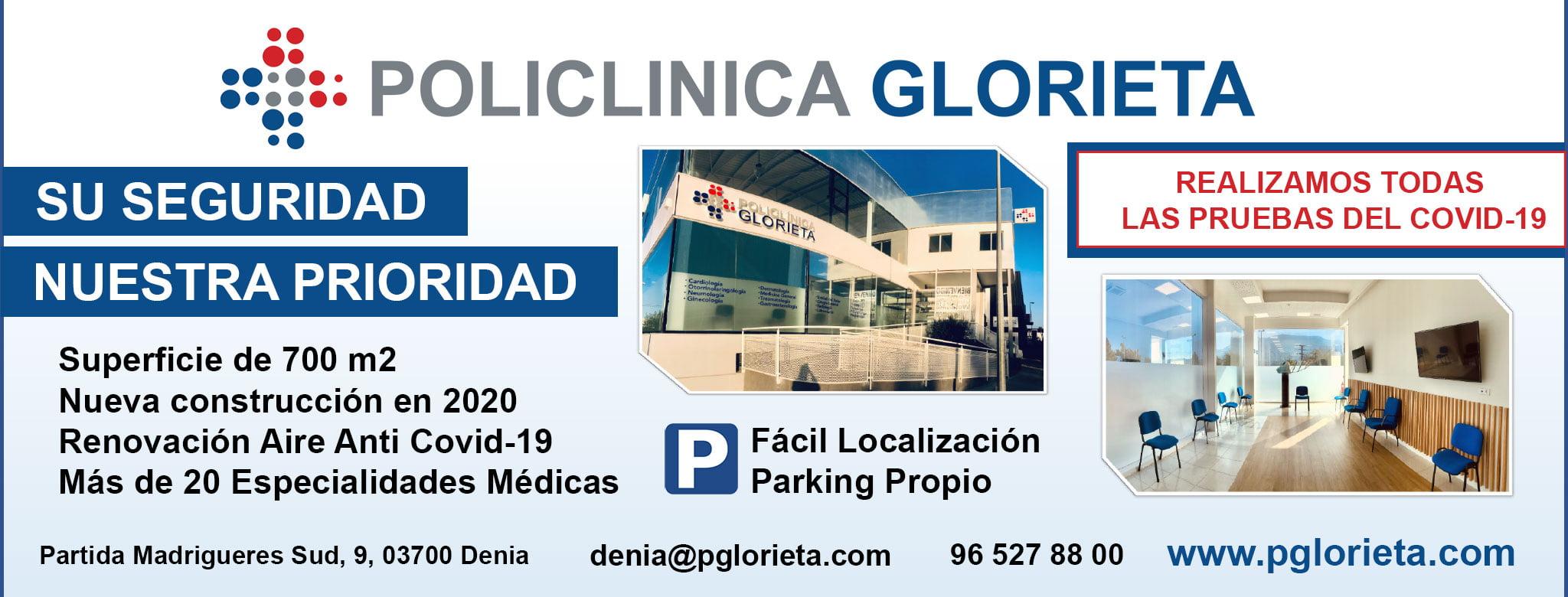 Sécurité anti-Covid 19 à la polyclinique Glorieta