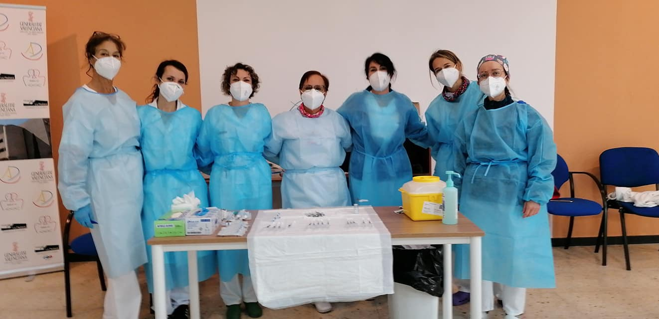 La Pedrera Hospital workers