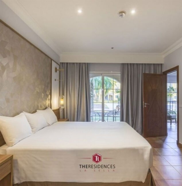 Image: Chambre dans l'un des appartements The Residences, à côté de l'hôtel Dénia Marriott La Sella Golf Resort & Spa