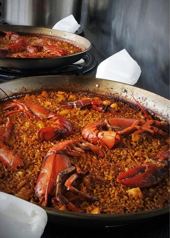 Riz au homard - La Chuleta Dénia