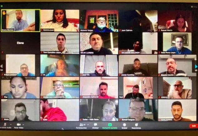 Imagen: Asamblea de la Junta Local Fallera y las comisiones dianenses