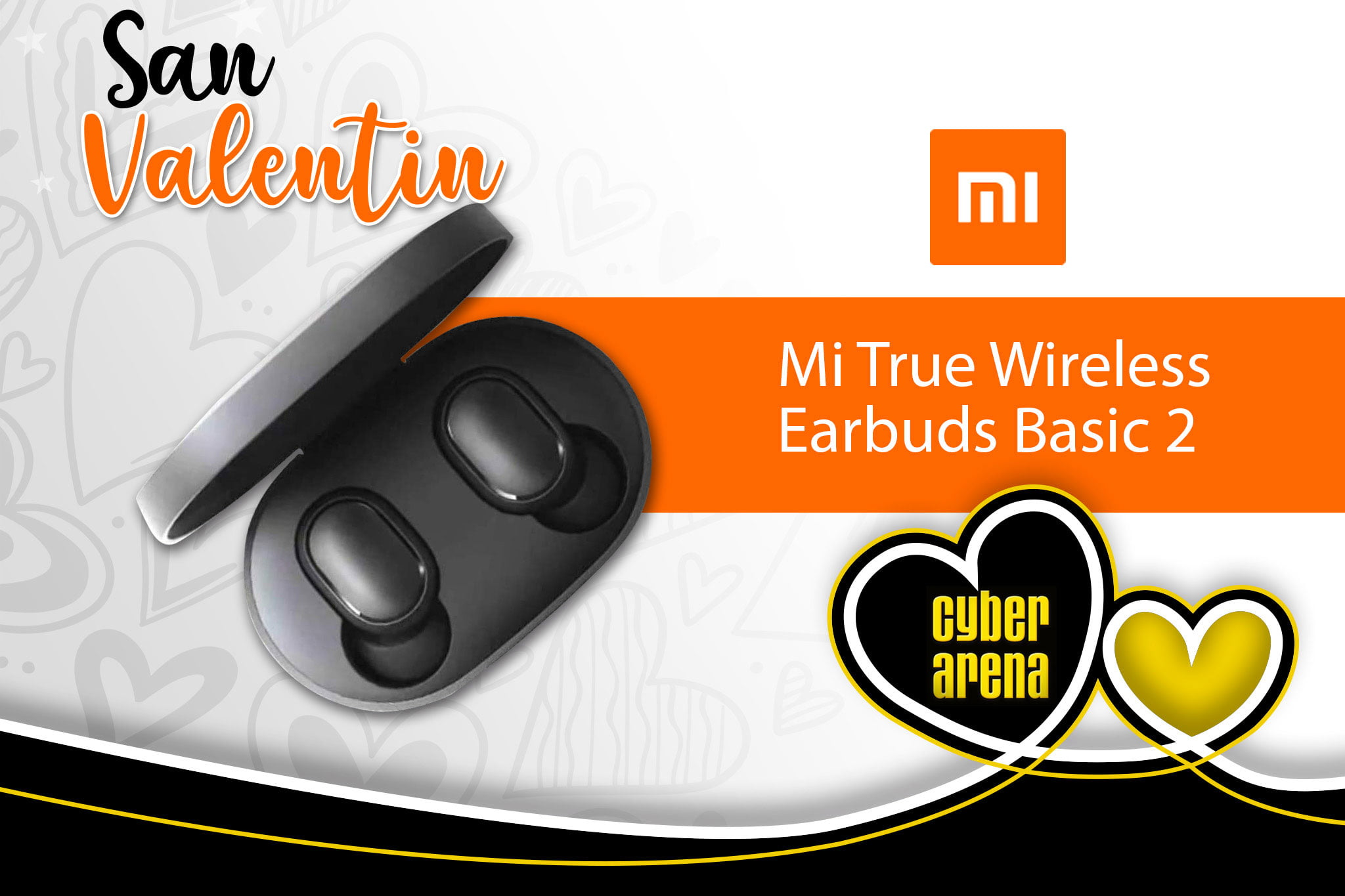 Écouteurs My True Wireless Earbuds Basic 2 - Cyber ​​Arena