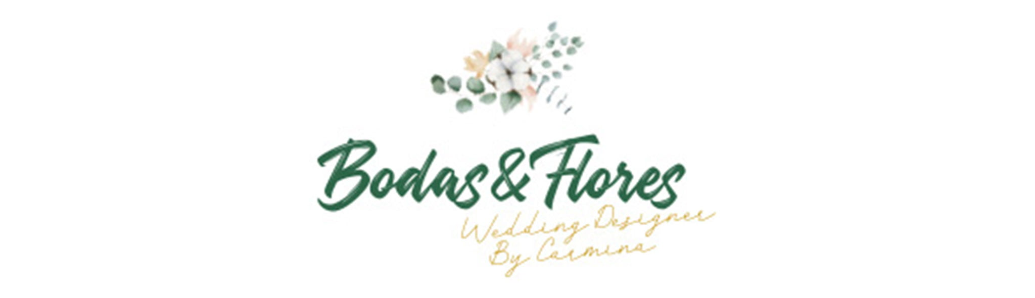 Wedding and Flowers Logo