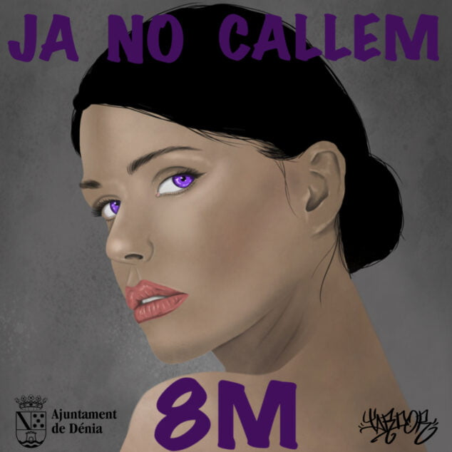 Image: 8M poster by artist Tardor