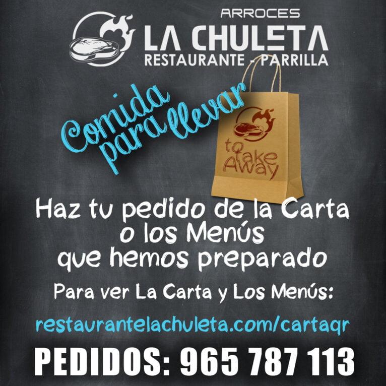Take away food in Dénia - La Chuleta