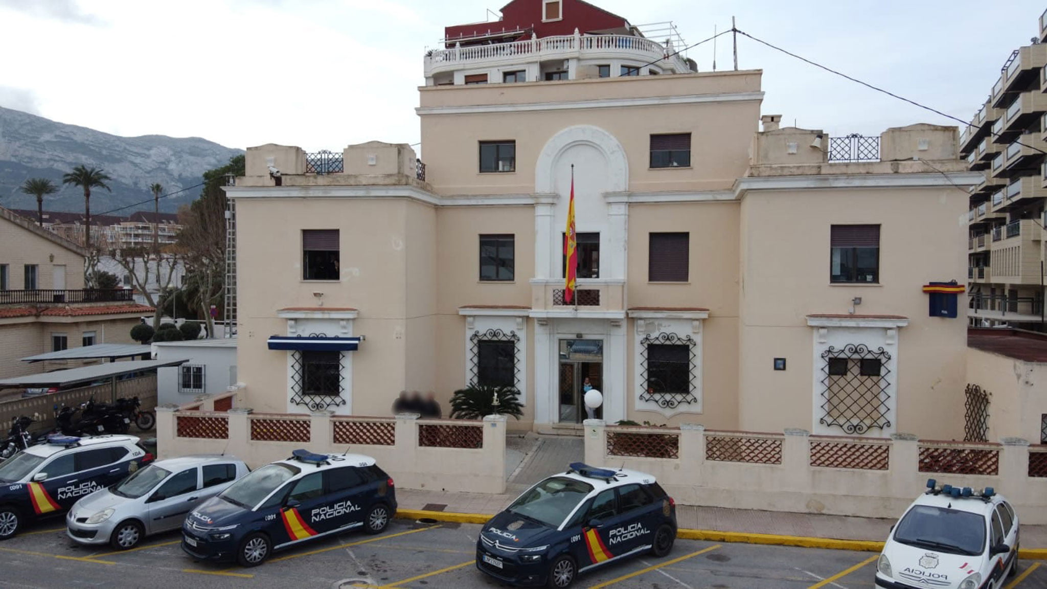 Police station of the National Police in Dénia