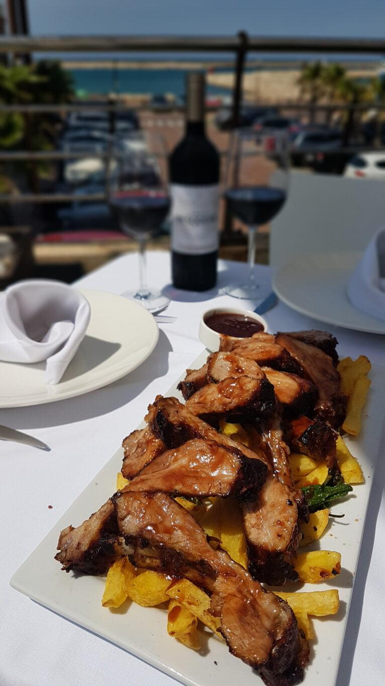 Iberian rib in La Chuleta Dénia