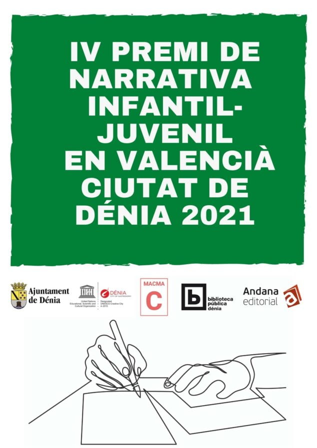 Image: Fourth prize for Youth and Children's Narrative Ciutat de Dénia