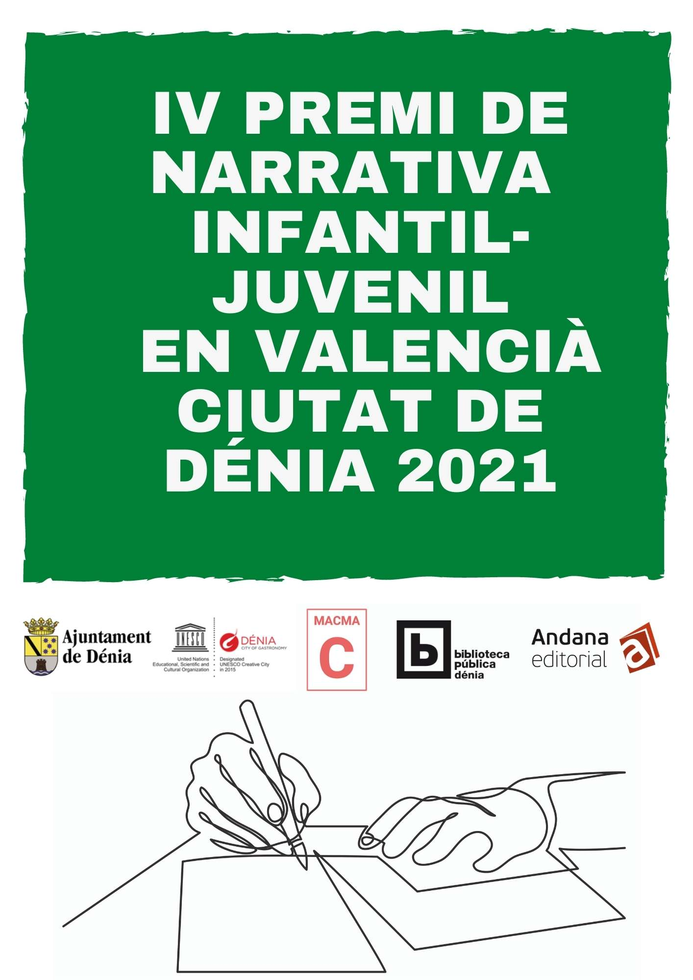 Fourth prize for Youth and Children's Narrative Ciutat de Dénia