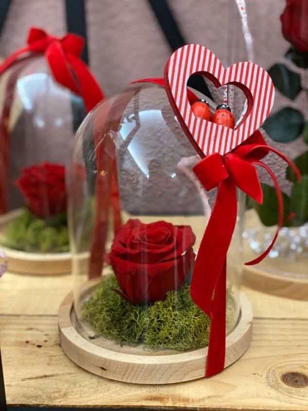 Image: Détail de la Saint-Valentin à Dénia - Fleuriste Mandarina