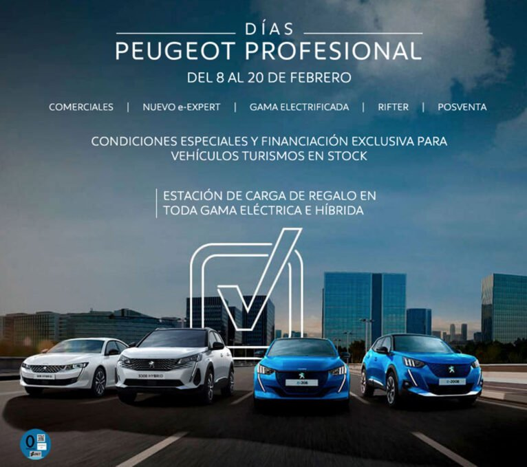 Advantages in the Peugeot Professional Days in Peumóvil
