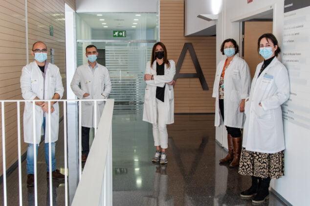 Image: L'équipe travaille en collaboration permanente avec les professionnels des centres