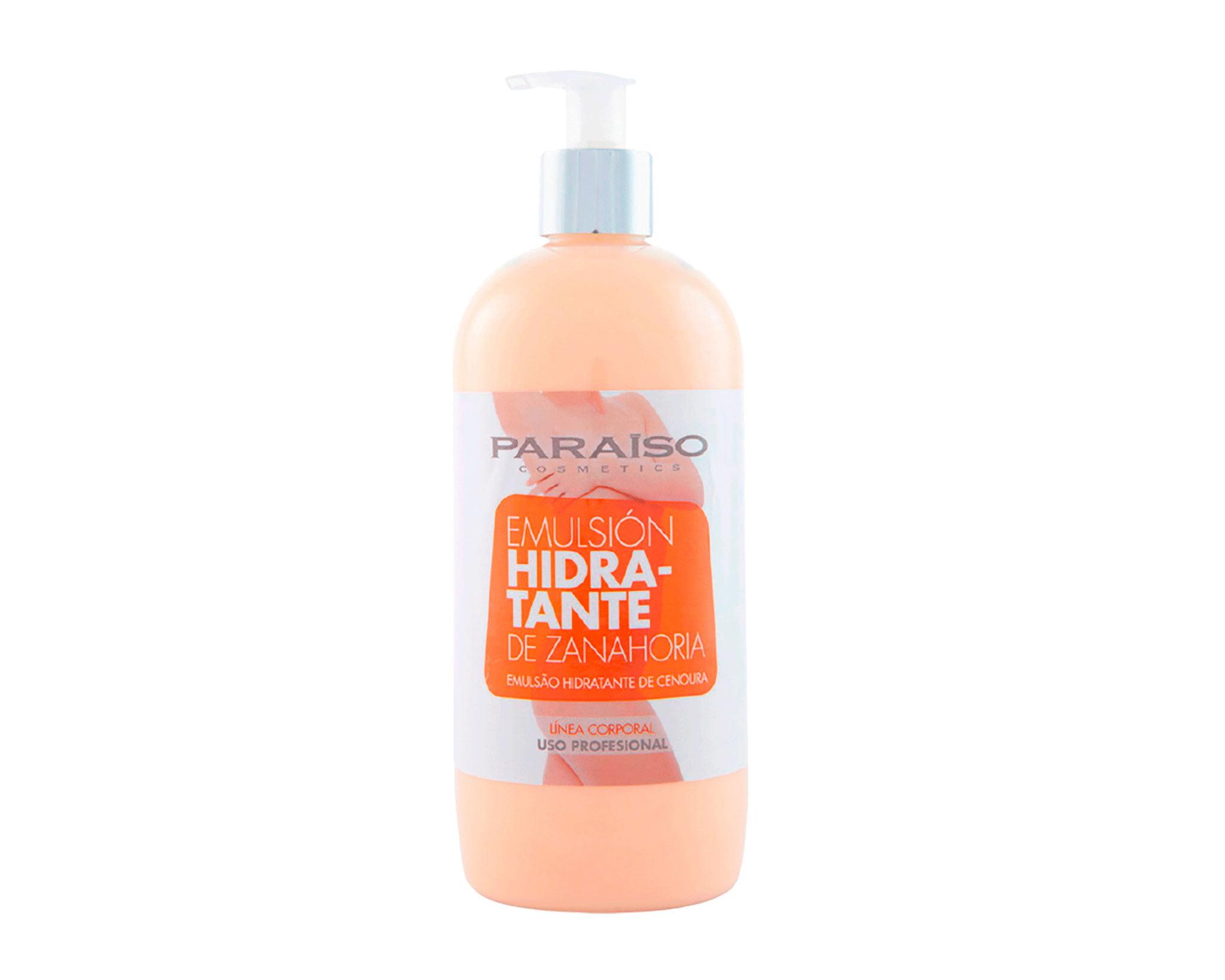 Emulsion hydratante de la marque professionnelle Paraiso - Doré