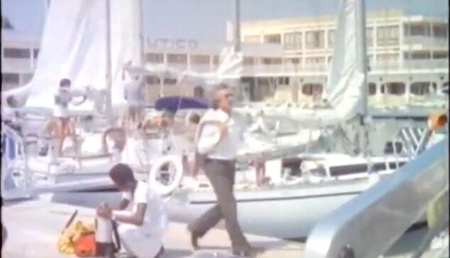 Imagen: Escena de la película frente al Club Náutico de Dénia
