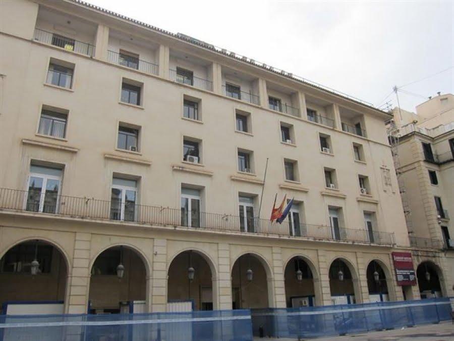 Façade de la Cour provinciale d'Alicante