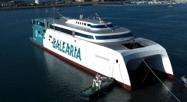 Imagen: Ferry Eleonor Roosevelt de Baleària