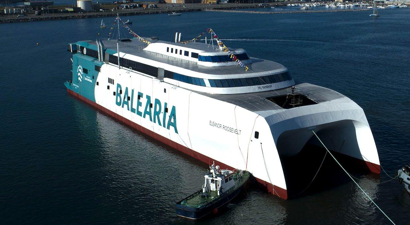 Transporte en barco en Dénia