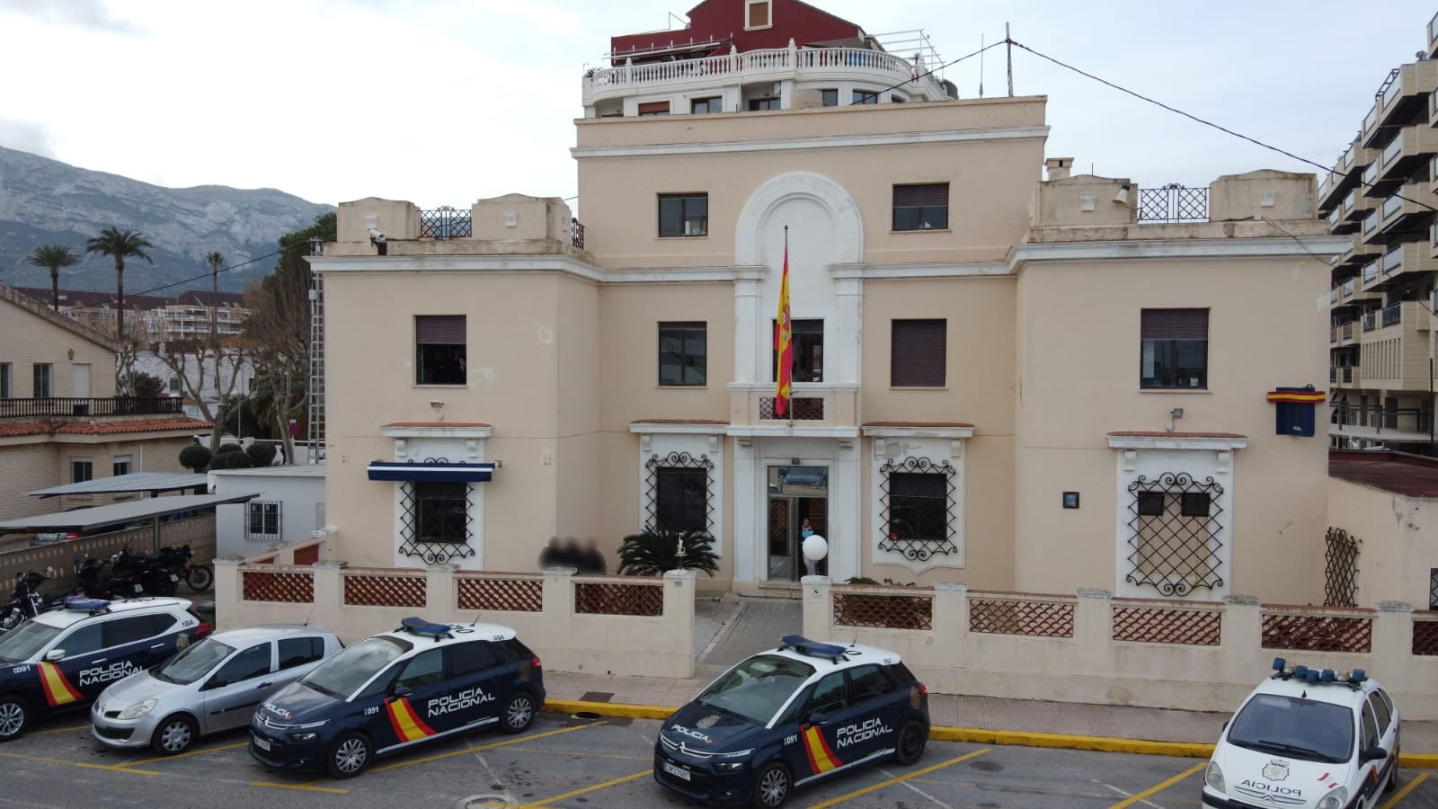 Photo archive Dénia police station
