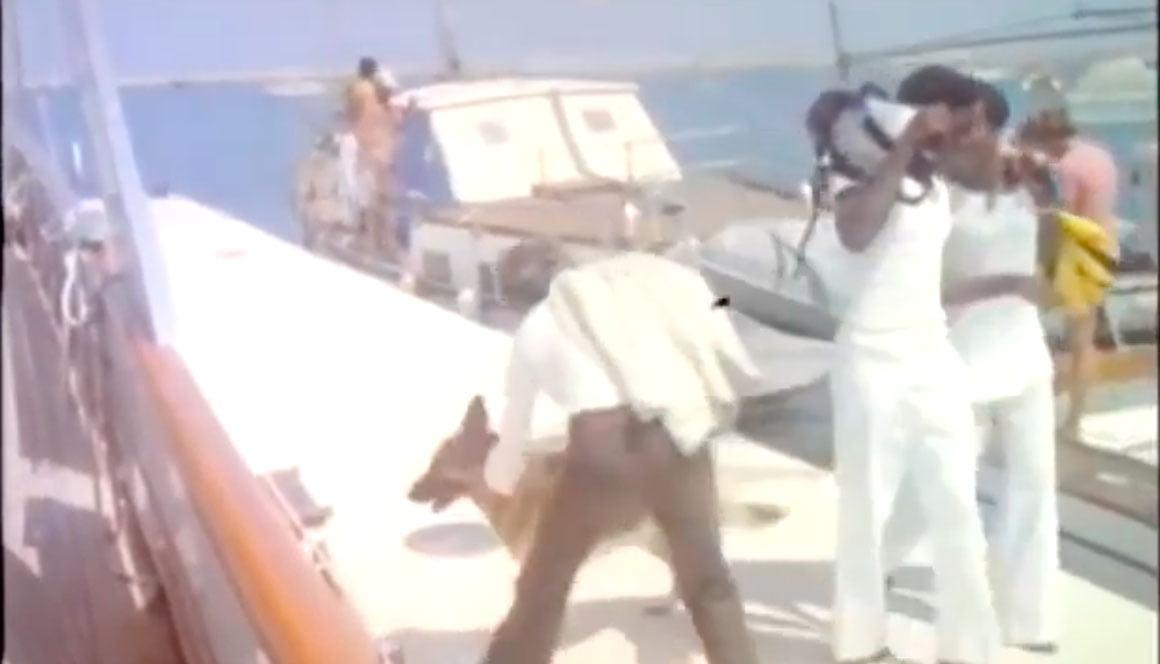 """Fotograma del puerto de Dénia en """"Encuentro en el abismo"""""""