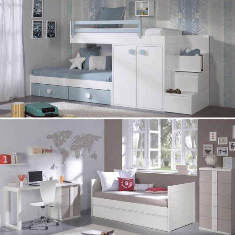 Transformation of a children's room into a youth room - Muebles Martínez
