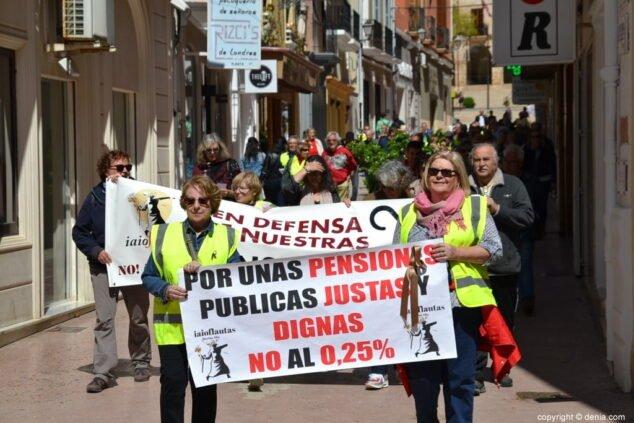 Image: Image d'archive de l'une des mobilisations de la plateforme en 2018