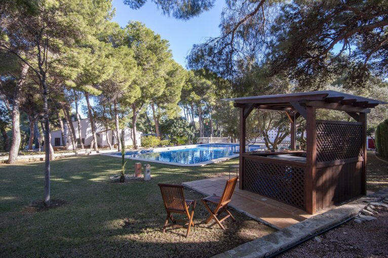Garden of a large holiday house in Dénia - Aguila Rent a Villa