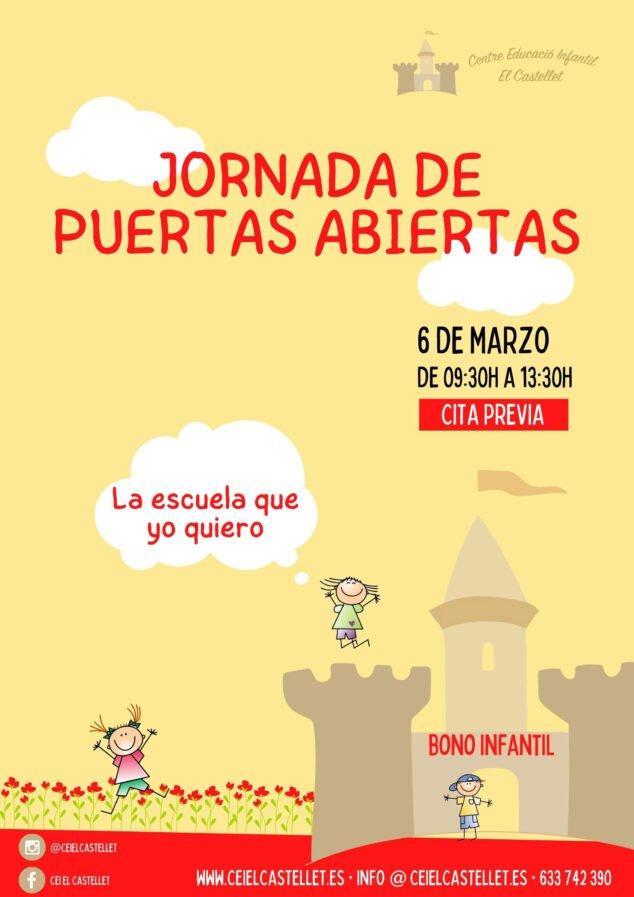 Imagen: Jornada de puertas abiertas en CEI El Castellet