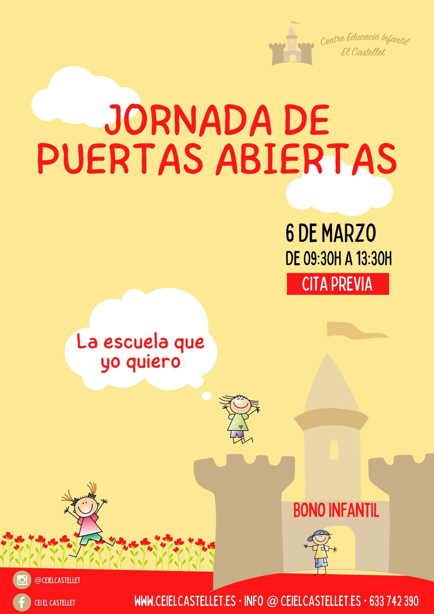 Open day at CEI El Castellet