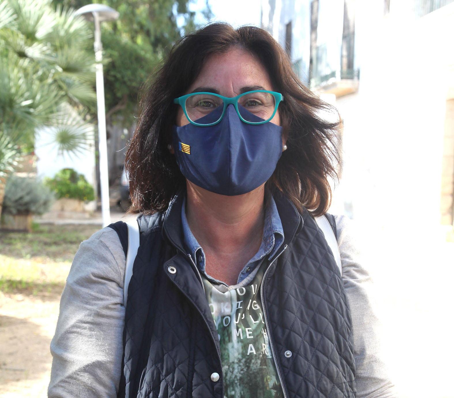 María Mut, porte-parole du PP de Dénia