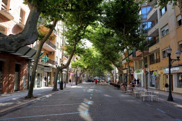 Imagen: Marqués de Campo cerrada al tráfico