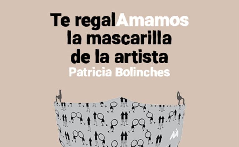 Mask of the artist Patricia Bolinches - Portal de la Marina