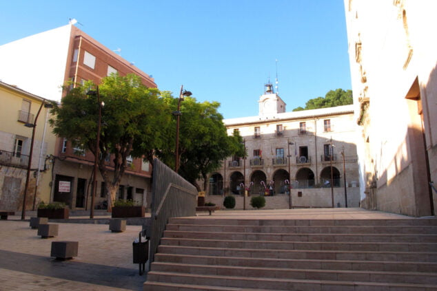 Imagen: Plaza del Ayuntamiento en 2020
