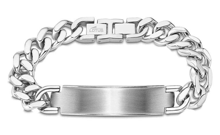 Lotus men's bracelet - Bonilla Jewelry