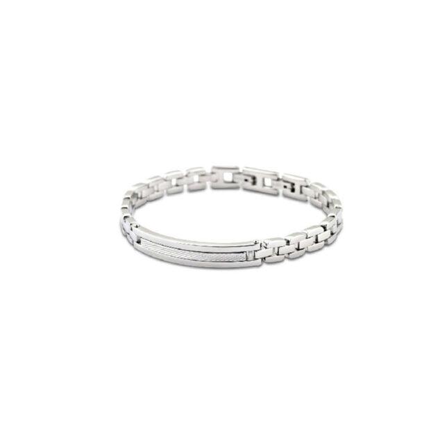Image: Lotus Style men's bracelet - Bonilla Jewelry