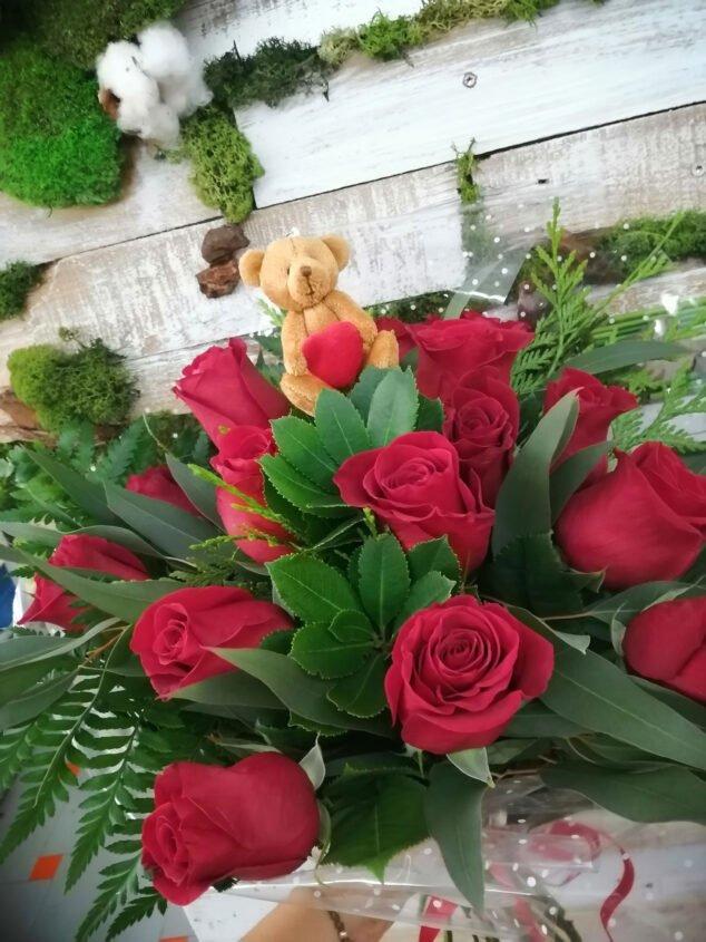 Image: Bouquet of roses in Dénia - Mandarina Florist
