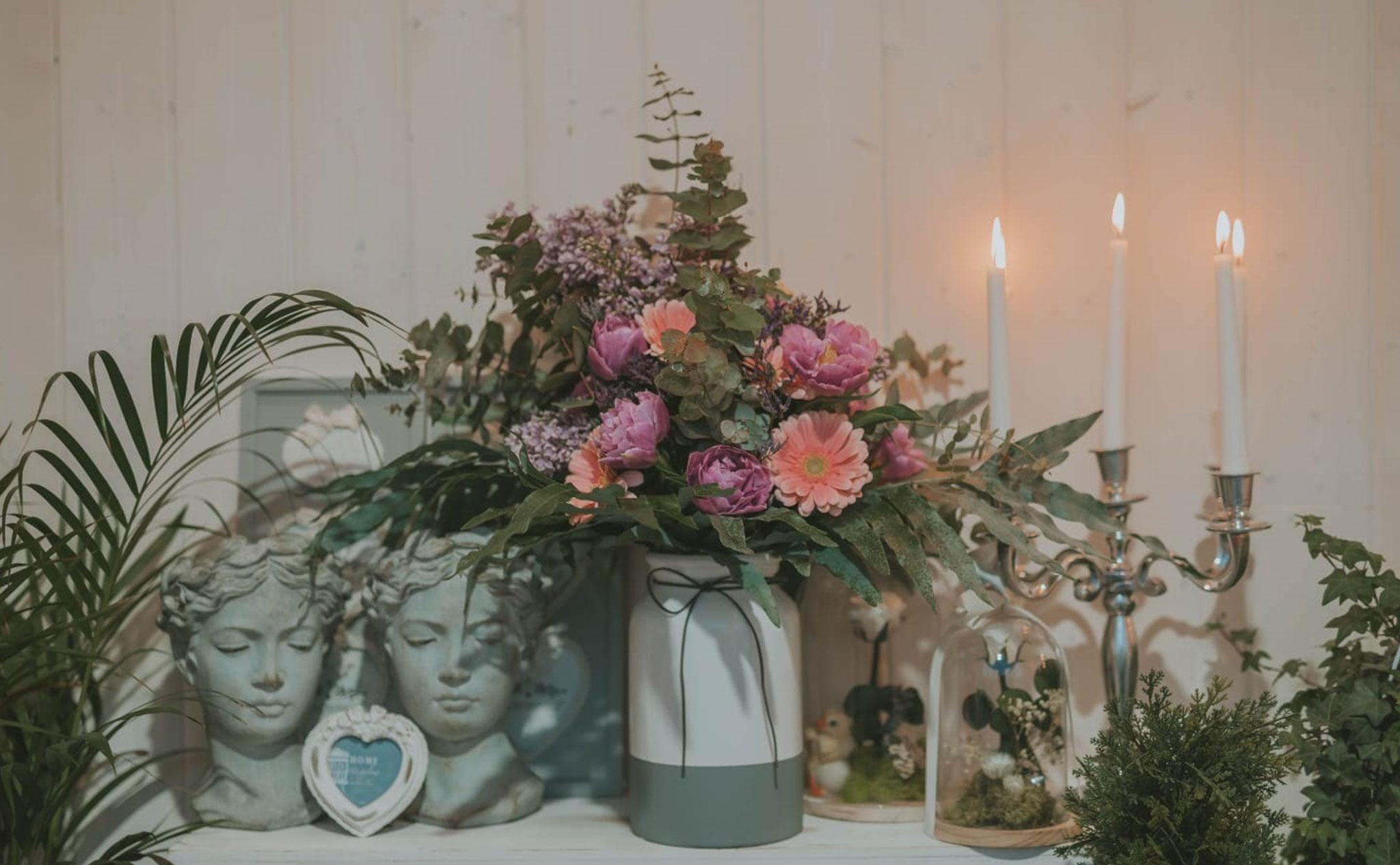 Bouquets colorés pour la Saint-Valentin - Mariages et fleurs