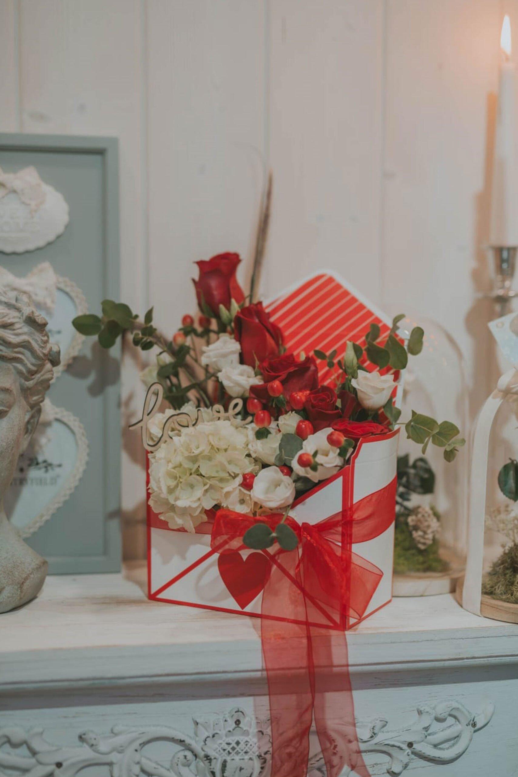 Cadeaux de la Saint-Valentin à Dénia - Mariages et fleurs