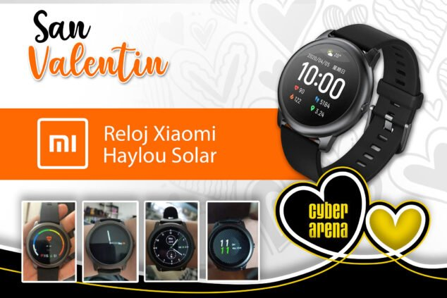Image: Xiaomi Haylou Solar Watch - Cyber Arena