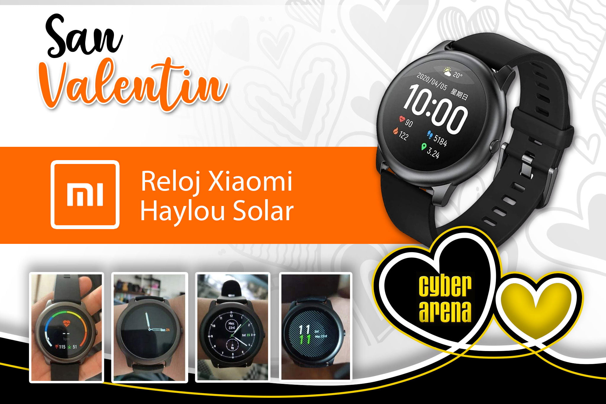 Xiaomi Haylou Solar Watch - Cyber ​​Arena