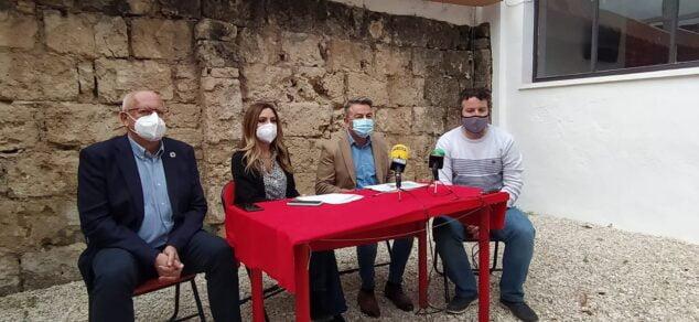 Imagem: Representantes do PSPV da Marina Alta