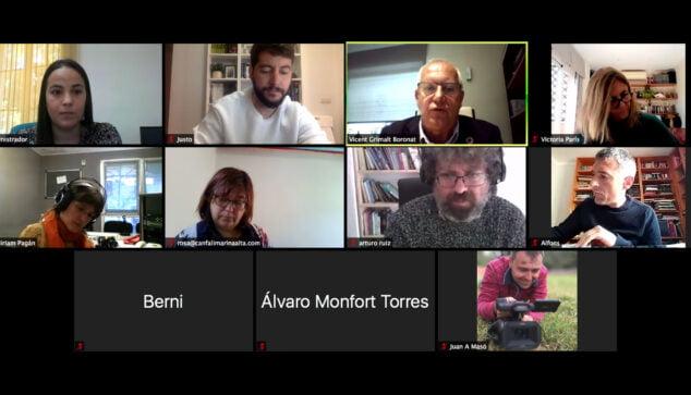 Imagen: Rueda de prensa presentación de Gent de Mar